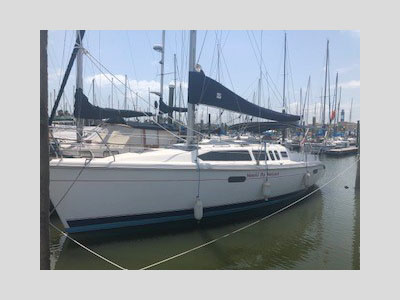 Used Sail Catamarans for Sale 1996 Hunter 336