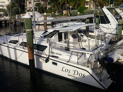 Catamaran for Sale Gemini 105Mc  in Hollywood Florida (FL)  LOS DOS  Preowned Sail