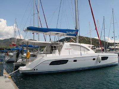 Catamarans SOPHIA, Manufacturer: ROBERTSON & CAINE, Model Year: 2012, Length: 42ft, Model: Leopard 44 owners version, Condition: Preowned, Listing Status: Catamaran for Sale, Price: EURO 275000
