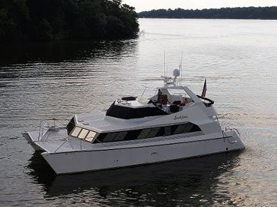 Catamaran for Sale 52 Power Cat  in Nashville  JUDYLAN Thumbnail for Listing Preowned Power