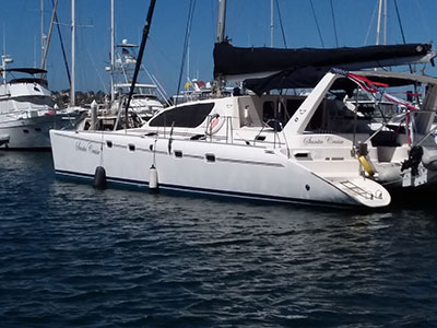 Used Sail Catamarans for Sale 2006 Leopard 47