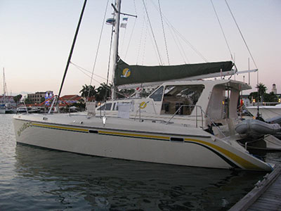 Used Sail Catamaran for Sale 2009 St. Francis 50