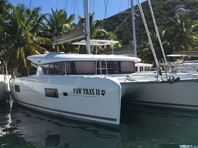 Catamarans PAW TRAX II, Manufacturer: LAGOON, Model Year: 2017, Length: 42ft, Model: Lagoon 42, Condition: Used, Listing Status: Catamaran for Sale, Price: USD 489000