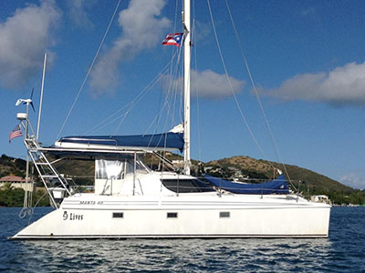 Used Sail Catamarans for Sale 1997 Manta 40