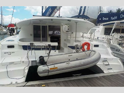 Used Sail Catamaran for Sale 2009 Lipari 41