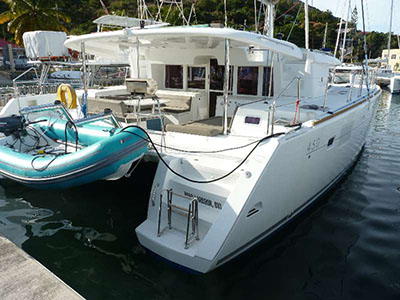 Catamarans KNOTTY DREAMS II, Manufacturer: LAGOON, Model Year: 2014, Length: 45ft, Model: Lagoon 450, Condition: Preowned, Listing Status: Catamaran for Sale, Price: USD 515000