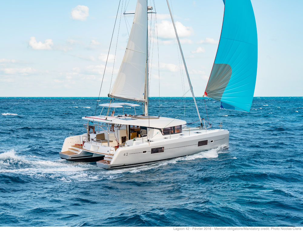 New Sail Catamarans for Sale 2017 Lagoon 42
