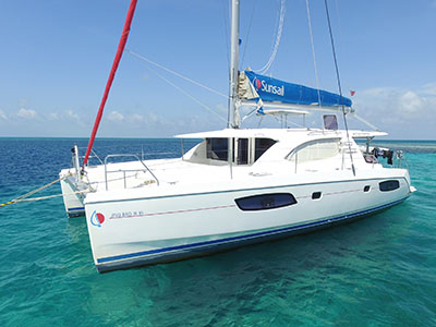 Coming Soon Leopard 44  in Placencia Belize JING BAO  Preowned Sail