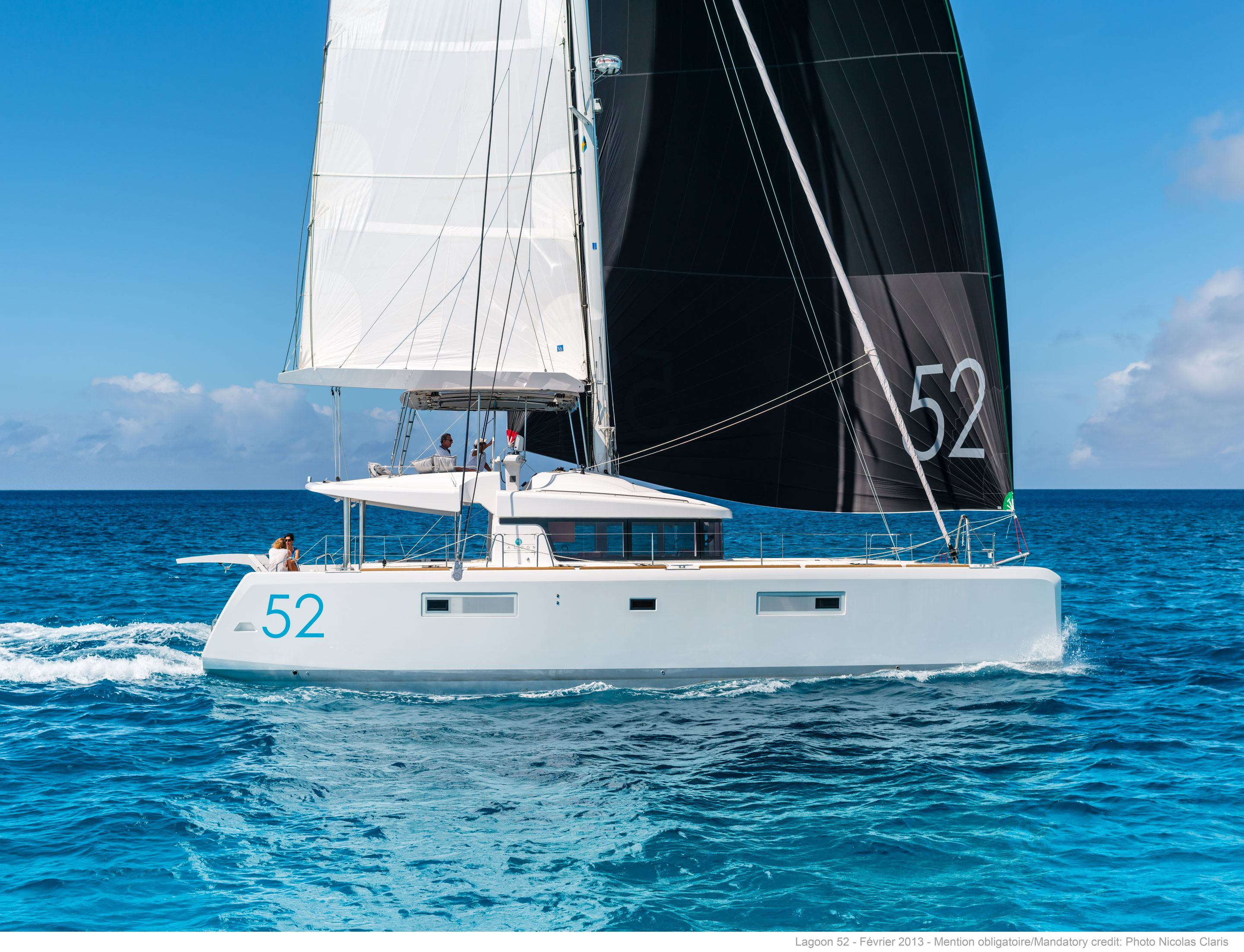 New Sail Catamaran for Sale 2019 Lagoon 52 F