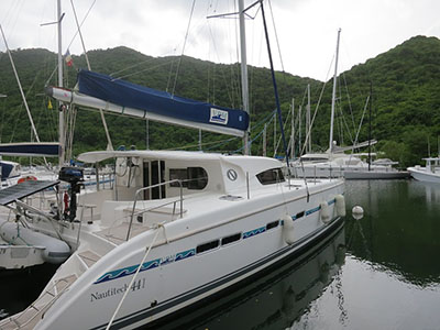 Catamaran for Sale Nautitech 441  in Guadeloupe EUPHORIA Thumbnail for Listing Preowned Sail