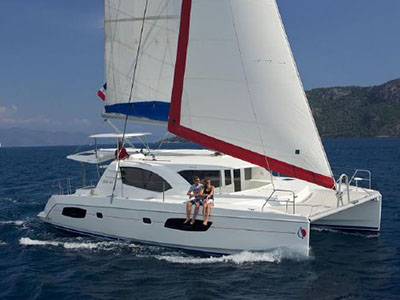 Used Sail Catamarans for Sale 2012 Leopard 44