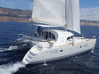 Catamaran for Sale Lagoon 380  in Marina del Rey California (CA)  ARMAGNAC  Preowned Sail