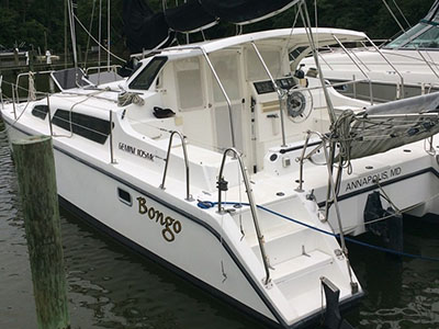 Catamarans BONGO, Manufacturer: PERFORMANCE CRUISING, Model Year: 2004, Length: 33ft, Model: Gemini 105Mc, Condition: Preowned, Listing Status: Catamaran for Sale, Price: USD 103000