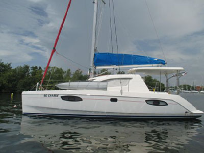 Preowned Sail Catamarans for Sale 2010 Leopard 38
