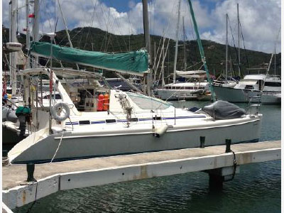 Used Sail Catamarans for Sale 2000 Admiral 38