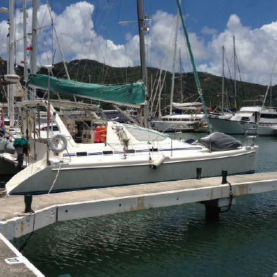 Used Sail Catamaran for Sale 2000 Admiral 38
