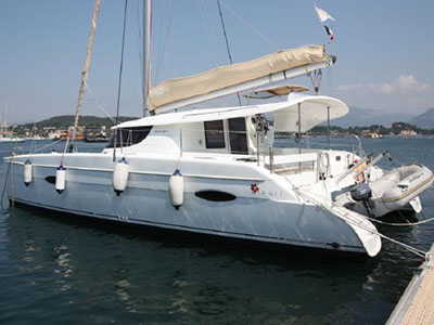 Sail Catamarans for Sale 2012 Lipari 41