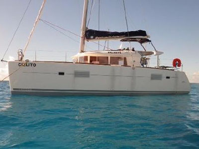 Catamaran for Sale Lagoon 400  in Praslin Seychelles CIELITO Thumbnail for Listing Preowned Sail