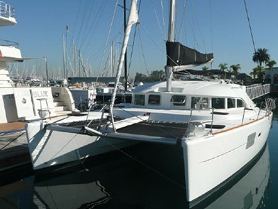 Catamaran for Sale Lagoon 380 S2  in Emeryville California (CA)  CATS MEOW  Preowned Sail