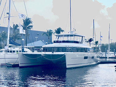 SOLD Lagoon 630MY  in Fort Lauderdale Florida (FL)  HULL 023  New Power