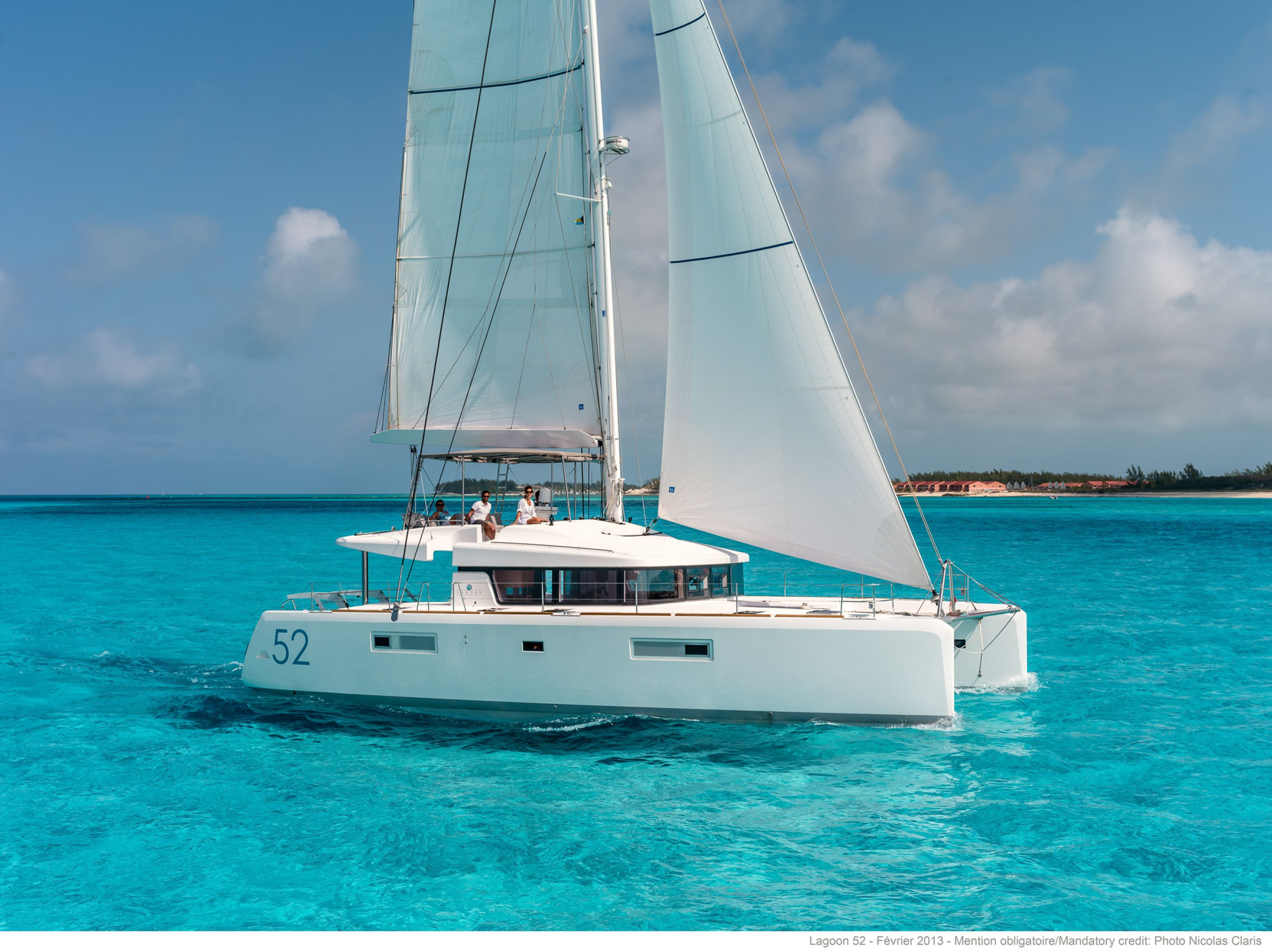 Preowned Sail Catamarans for Sale 2015 Lagoon 52