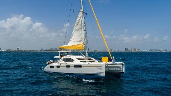 Used Sail Catamaran for Sale 2008 Leopard 46