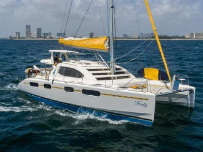 Used Sail Catamaran for Sale 2008 Leopard 46