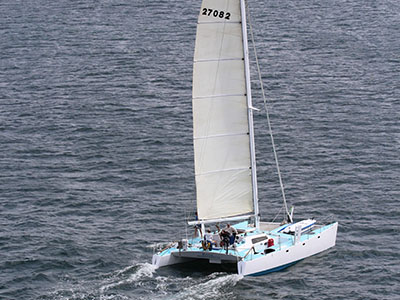 Used Sail Catamarans for Sale 1983 Concept 41