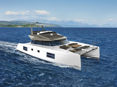 New Power Catamaran for Sale  Nautitech 47