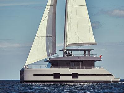 Launched Sail Catamaran for Sale  Sunreef Supreme 68-S