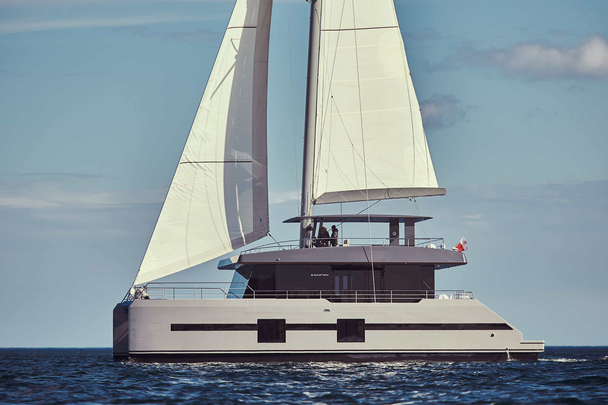 Launched Sail Catamaran for Sale  Sunreef Supreme 68-S