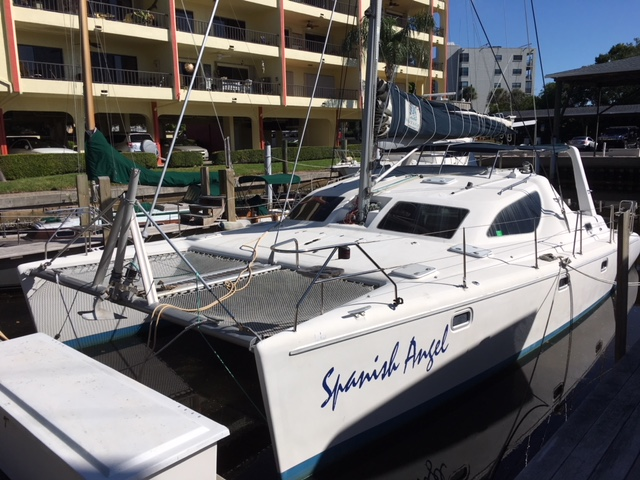 Used Sail Catamaran for Sale 2002 Voyage 380