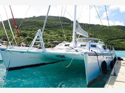 Used Sail Catamaran for Sale 1999 Simonis 65