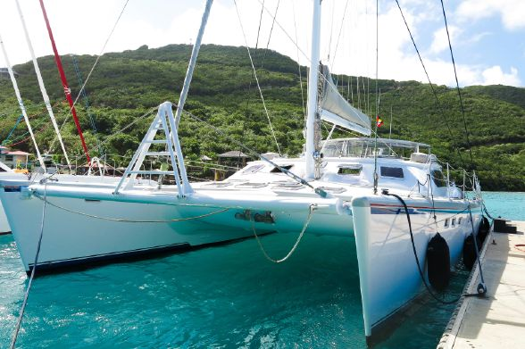 Used Sail Catamarans for Sale 1999 Simonis 65