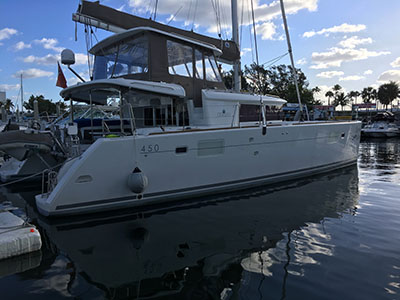 Catamarans SEA ROSE, Manufacturer: LAGOON, Model Year: 2015, Length: 45ft, Model: Lagoon 450, Condition: Preowned, Listing Status: Coming Soon, Price: USD 615000