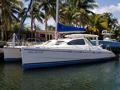 Catamaran for Sale Leopard 43   in Pompano Beach Florida (FL)  COOL CHANGE  Preowned Sail