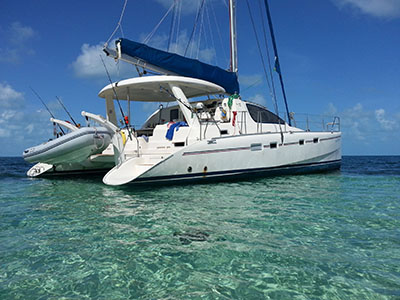 Catamarans COOL CHANGE, Manufacturer: ROBERTSON & CAINE, Model Year: 2005, Length: 43ft, Model: Leopard 43 , Condition: Preowned, Listing Status: Catamaran for Sale, Price: USD 245000