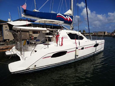 Used Sail Catamarans for Sale 2013 Leopard 39