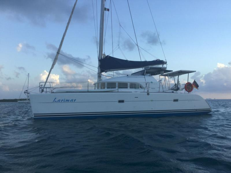 Catamarans LARIMAR, Manufacturer: LAGOON, Model Year: 2004, Length: 38ft, Model: Lagoon 380, Condition: Preowned, Listing Status: Catamaran for Sale, Price: USD 170000