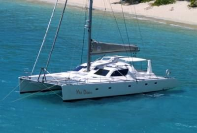 Catamarans YES DEAR, Manufacturer: VOYAGE YACHTS, Model Year: 2007, Length: 57ft, Model: Voyage 580, Condition: Preowned, Listing Status: Catamaran for Sale, Price: USD 570000
