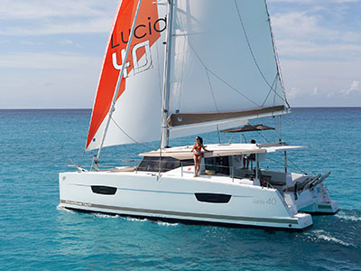 New Sail Catamaran for Sale 2020 LUCIA 40
