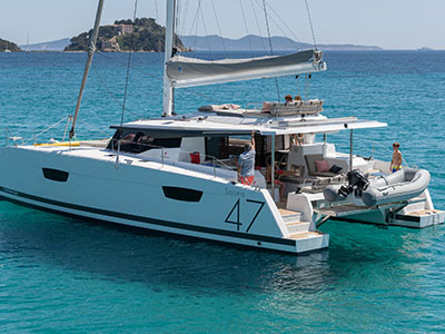 Catamarans FP SAONA 47 TBA, Manufacturer: FOUNTAINE PAJOT , Model Year: 2020, Length: 46ft, Model: Saona 47, Condition: New, Listing Status: NOT ACTIVE, Price: USD