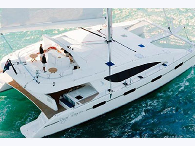Preowned Sail Catamarans for Sale 2008 Silhouette 760