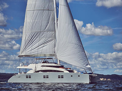 Catamaran for Sale Sunreef 88 DD  in Gdansk Poland BROCHURE-SUNREEF 88 DD  Brochure Sail