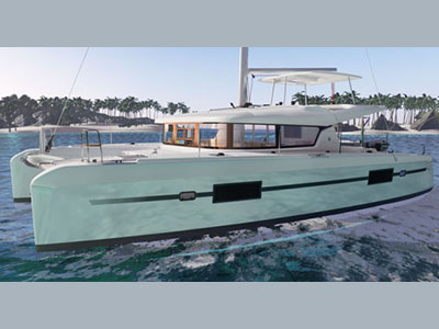 SOLD Lagoon 42  in Tortola British Virgin Islands BANG BANG LULU Thumbnail for Listing New Sail