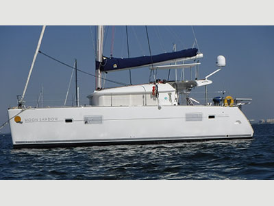 Acceptance of Vessel Lagoon 400  in Fort Lauderdale Florida (FL)  MOON SHADOW  Preowned Sail