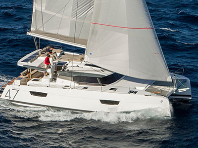 New Sail Catamaran for Sale  Saona 47