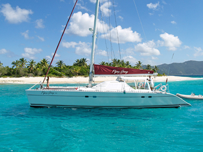 Catamaran for Sale Lagoon 55  in Road Town British Virgin Islands FLYING GINNY VII Thumbnail for Listing Preowned Sail