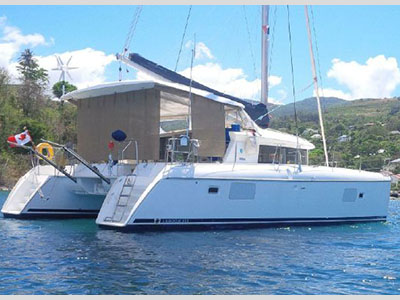 Catamarans BLUE ZULU, Manufacturer: LAGOON, Model Year: 2008, Length: 41ft, Model: Lagoon 420, Condition: Preowned, Listing Status: Under Offer, Price: USD $ 359000