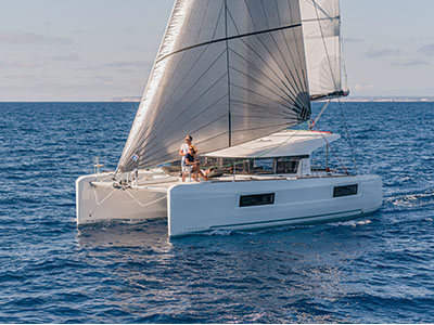 New Sail Catamaran for Sale 2020 Lagoon 40